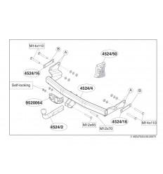 Фаркоп на Jeep Compass 452400