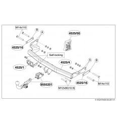 Фаркоп на Jeep Compass 452500