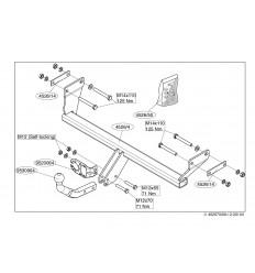 Фаркоп на Dodge Caliber 452600