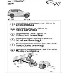 Штатная электрика к фаркопу на BMW X5 12020535