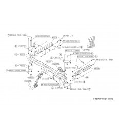 Фаркоп на Mercedes R 461700