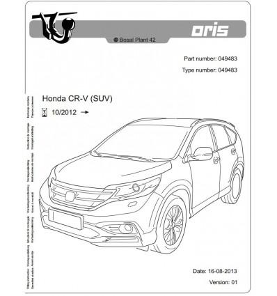 Фаркоп на Honda CR-V 049-483
