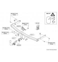 Фаркоп на Mazda 5 501100
