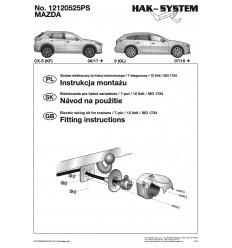 Электрика оригинальная на Mazda CX-5 12120525