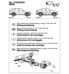 Электрика оригинальная к фаркопу на BMW X5 21020525