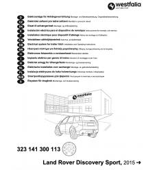 Штатная электрика к фаркопу на Land Rover Discovery Sport 323141300113