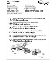 Штатная электрика к фаркопу на Volkswagen Caravelle/Multivan/T5/T6 12270555