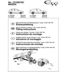 Штатная электрика к фаркопу на Mazda 3 12120518