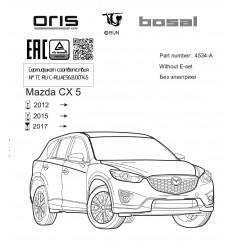 Фаркоп на Mazda CX-5 4534-A