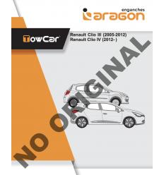 Фаркоп на Renault Clio E5213DA