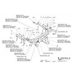 Фаркоп на Honda CR-V H/023