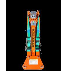 Универсальная жесткая сцепка KOZA 1.4 для буксировки легковых автомобилей до 1400 кг
