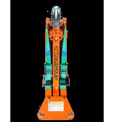 Универсальная жесткая сцепка KOZA 2.7  для буксировки легковых автомобилей до 2700 кг