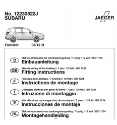Электрика оригинальная на Subaru Forester 16230522