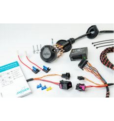 Штатная электрика к фаркопу на Nissan Qashqai 12140539