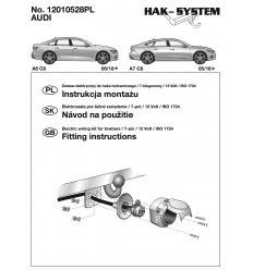 Штатная электрика к фаркопу на Audi A6/A7 12010528