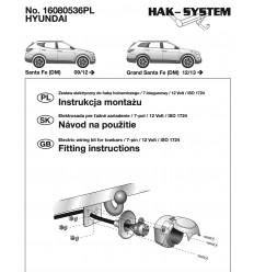 Электрика оригинальная на Hyundai Santa Fe 16080536