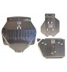 Защита картера, КПП, топливного бака и редуктора Acura MDX ALF18836AL