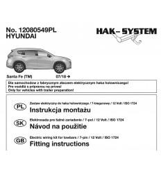 Электрика оригинальная на Hyundai Santa Fe 12080549