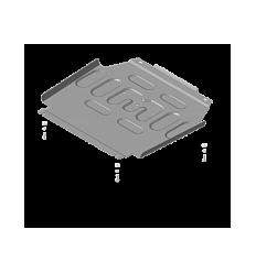 Защита радиатора Toyota HiAce 72556