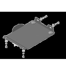 Защита картера и переднего дифференциала SsangYong Rexton 62807