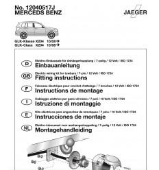 Электрика оригинальная на Mercedes-Benz GLK 12040517