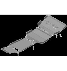 Защита картера, радиатора, КПП, РК и переднего дифференциала Haval H9 13114