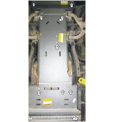 Защита картера, КПП, РК и переднего дифференциала Dodge RAM 12902