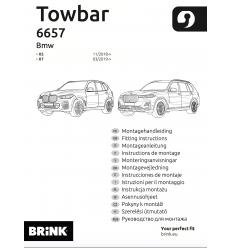 Фаркоп на BMW X7 665700