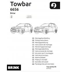 Фаркоп на BMW X7 665600