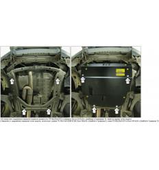 Защита картера и КПП Honda Pilot 10801