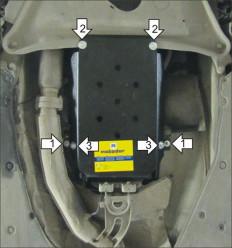 Защита КПП BMW 7-Series 10208
