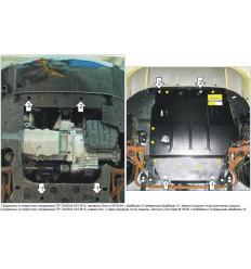 Защита картера и КПП Chrysler Sebring 05601
