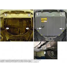 Защита картера и КПП Land Rover Freelander 03201