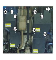Защита топливного фильтра Haval F7 03124