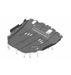 Защита картера и КПП Opel Antara 03037