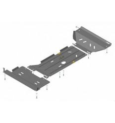 Защита картера, радиатора, КПП, РК и переднего дифференциала Dodge RAM 02905