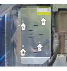 Защита трубок кондиционера Volkswagen Multivan 02741