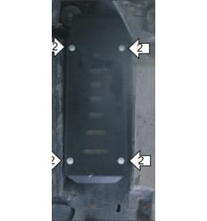 Защита радиатора охлаждения топлива Volkswagen Caravelle 02715