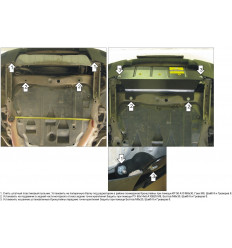 Защита радиатора Volvo XC90 02617