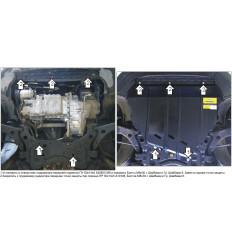 Защита картера и КПП Volvo V50 02614