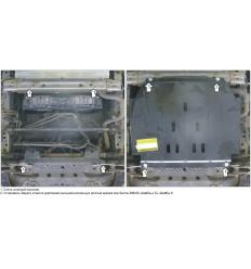 Защита радиатора Toyota HiAce 02556