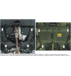 Защита картера и КПП Lexus ES 02529