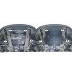 Защита картера и КПП Renault Kangoo 01716