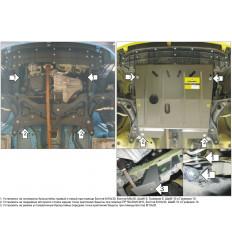 Защита картера и КПП Peugeot 107 01610