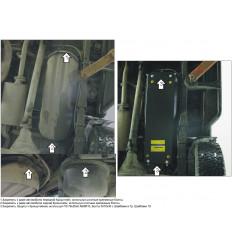 Защита топливного бака Mitsubishi L200 01335