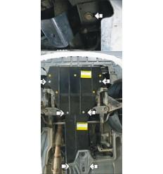 Защита картера и КПП Mercedes-Benz Vito 01233