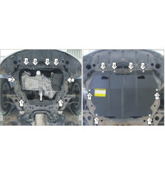 Защита картера и КПП Mazda 6 01131
