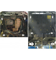 Защита картера и КПП Honda CR-V 00824