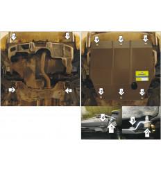 Защита картера и КПП Honda HR-V 00822